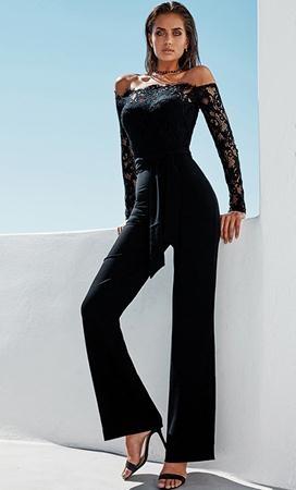 Salopeta Eleganta Neagra