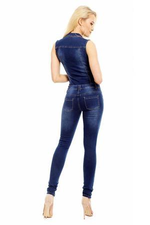 salopeta jeans dama