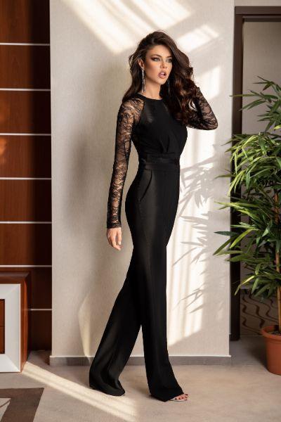 salopeta-dama-eleganta-neagra