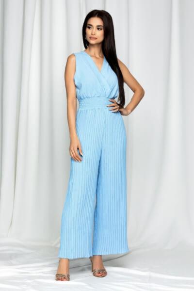 salopeta-bleu-cu-elastic-in-talie