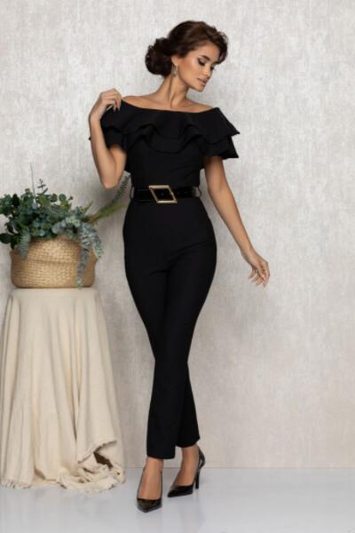 salopeta neagra eleganta